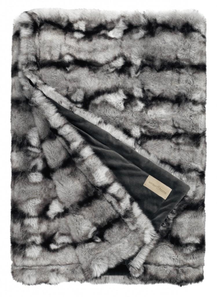 Blackchinchilla-Decke